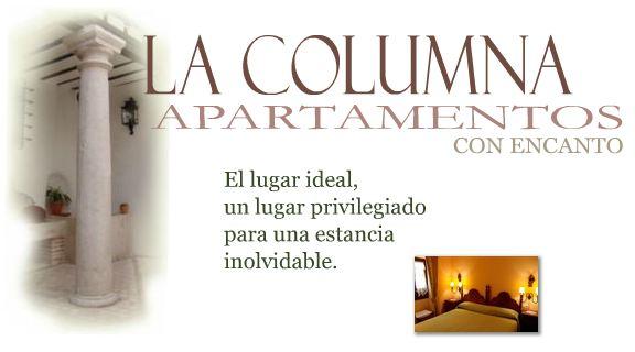 Logo Apartamentos La Columna